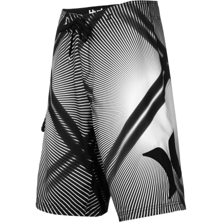 Surf The Hurley Nova Boardshort bridges the gap between classic and cutting-edge with ultra-soft, water-repellent supersuede fabric and a long modern cut that looks as good at a party as it does in the water. - $38.97