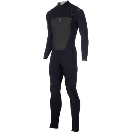 Surf Winter winds are stinging, and the waves are overhead. Slip on the Hurley Fusion 403 Men's Chest-Zip Wetsuit and comfortably paddle out into the chilly surf. Fusion taped seams prevent cold water from rushing in and hollow fiber Exoflex front and back panels retain heat to keep your core warm so you can stay in the water all day. - $229.46
