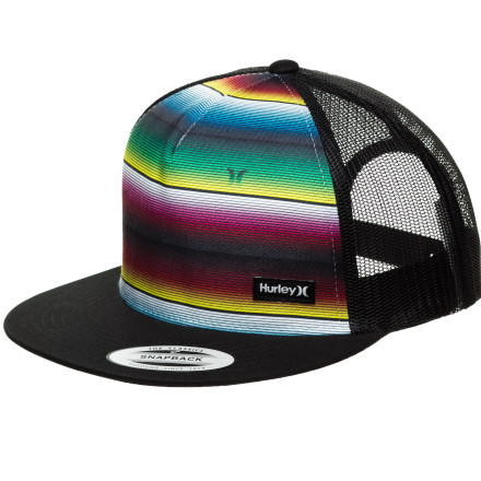 Surf Hurley Trunks Trucker Hat - $21.95