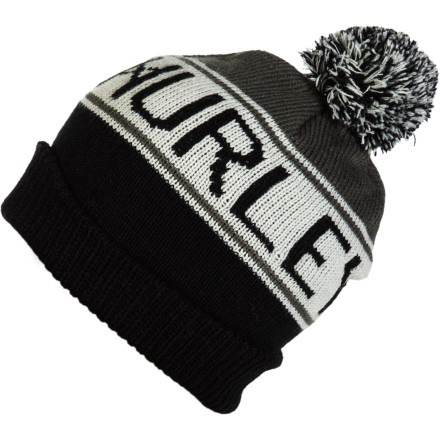 Surf Hurley Alley Pom Beanie - $16.17