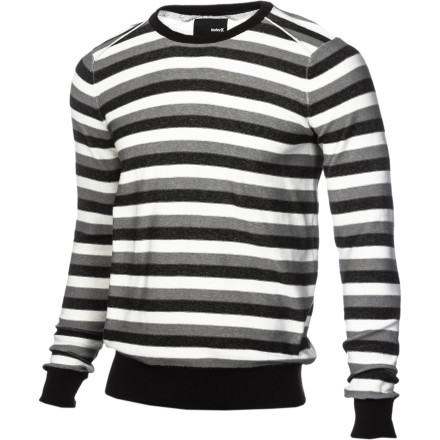 Surf The Hurley Caliber Men's Sweater is an article of clothing finally that both your mom and your tatted-up girlfriend can agree on. - $41.62