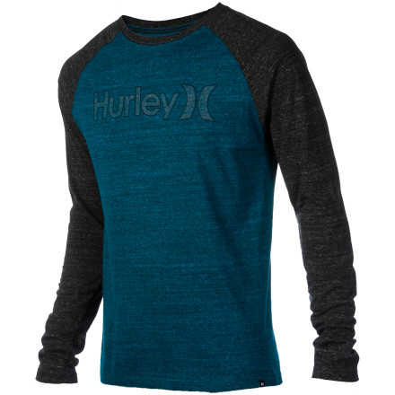 Surf Hurley One & Only Raglan T-Shirt - Long-Sleeve - Men's - $22.37