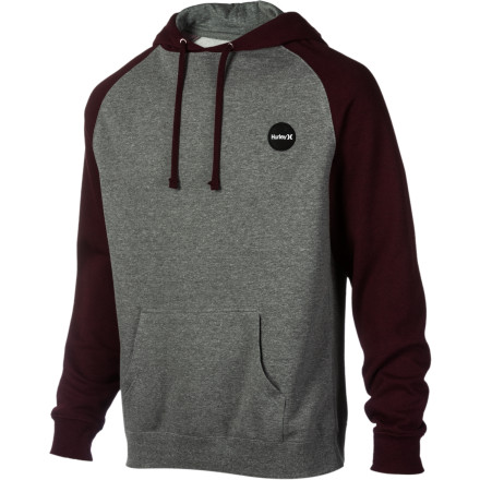 Surf Hurley Flammo Brand Pullover Fleece Hoodie - Men's - $24.72