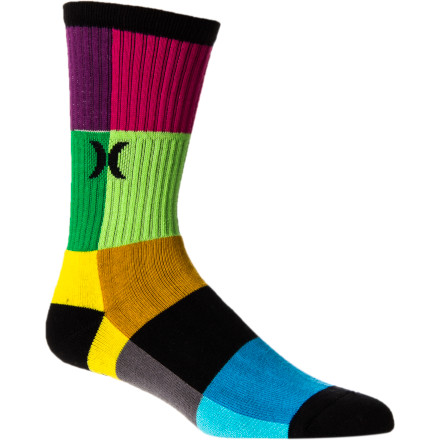 Skateboard Hurley Crew Sock - 3-Pack - $20.96