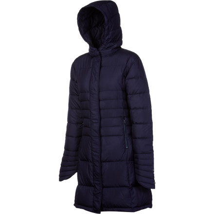 Ski The I Spiewak & Sons Women's Warren Jacket wraps you in soft, cozy down to keep you warm when cold weather keeps the less-prepared stuck inside. Plus, the sleek style of this casual winter jacket means you'll look great whether you're wandering through Central Park after a snow storm or headed for a ski-town retreat. - $128.37
