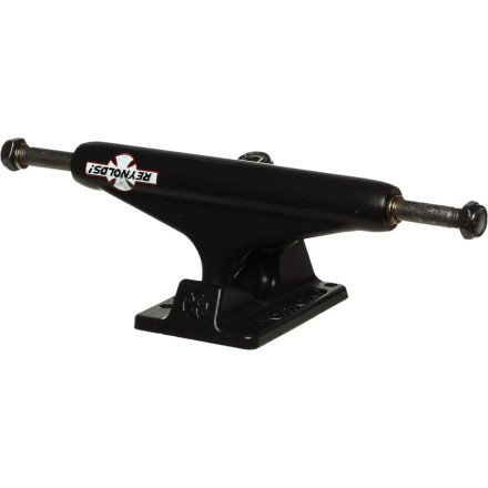 Skateboard The Independent Reynolds GC Hollow Baker Skate Truck features a hollow kingpin, axle, and hanger body for ridiculous weight savings. We can't promise you'll flick faster and ollie higher... but you'll totally flick faster and ollie higher. - $23.96