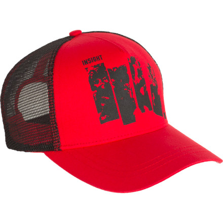 Surf Just because you were ousted from the beach-side bar doesn't mean you can't slip on the Insight Barred Trucker Cap to conceal your identity and pay tourists to slip you shots through the fence. - $7.98