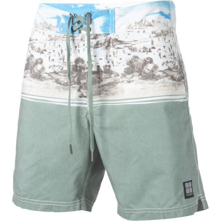 Surf The fashion-aware agree that the Insight Foolosophy Board Short feels good and performs well in the water. They also agree that it helps you blend into desert surroundings when necessary. - $30.22