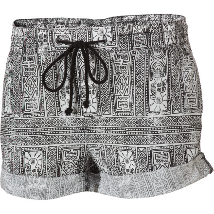 Surf Wear the Insight Women's Tribal Grunge Shorts while you pretend to wash your car in your front yard. It doesn't need washing, but the hot new neighbor that moved in across the street definitely needs to see how good you look in short shorts. - $24.98