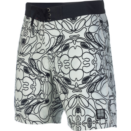 Surf Put on the Insight Yo Picasso Mid Board Short and make a Cubism-inspired splash at the local pool or beach. Painting your summer with artistry will be easy with the Yo Picasso's all-over print and super-soft microfiber stretch material. - $26.37