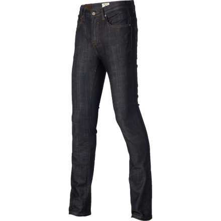 Surf Slip on the Insight Slicker Drip Slim Denim Pant and wear a grin as you set out on your day that will be so full of win it will make your head spin. - $52.46