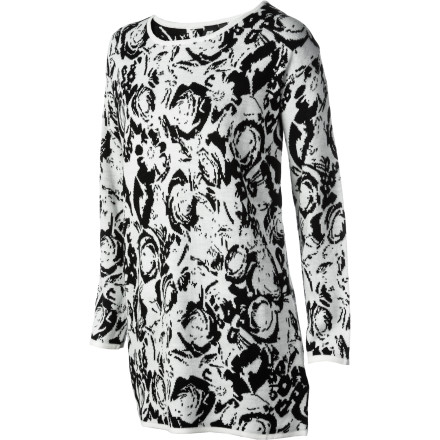 Entertainment The Insight Women's Ritual Rose Dress is hard to resist, thanks to its striking floral print, loose fit, and dropped shoulders. - $33.98