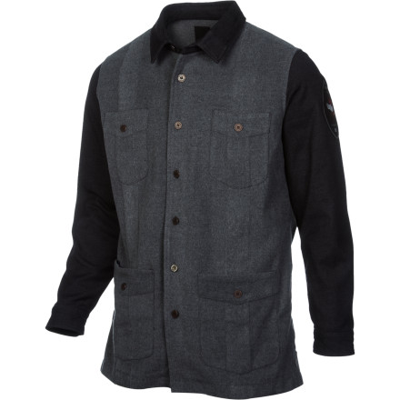 Skateboard Hey denim Dan, complete your Canadian tuxedo with the Insight Fever Squad Men's Jacket. It features classic jean jacket styling with a little bit of spandex in the fabric so you can move better while skating or chopping down trees. - $42.73