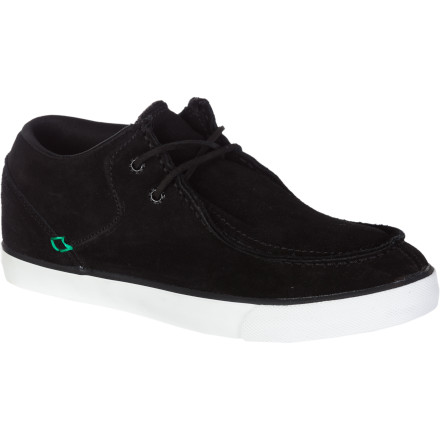 Skateboard The Ipath Cat Rod 5 Mid Skate Shoe offers mid-top protection with the easy-to-wear fit of a slipper, the overall aesthetic of a boat shoe, and the classic silhouette of Ipath's proven Cat model. - $59.96