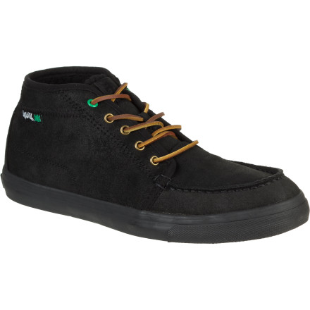 Skateboard Wear the Ipath Men's Ashbury Shearling Shoe for class, comfort, and durability at the skatepark or out to dinner. The vulcanized rubber sole provides skate-worthy performance while the soft shearling lining ups the comfort level. - $53.97