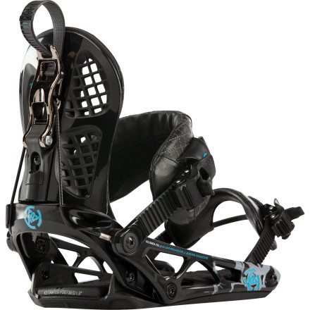 Snowboard K2's Cinch CTS Snowboard Bindings offer comfort and convenience for riders of all ability levels. The folding rear highback lets you easily strap in without sitting down, while the fully functional straps and ratchets allow a fine-tuned fit you can set and forget. - $125.97