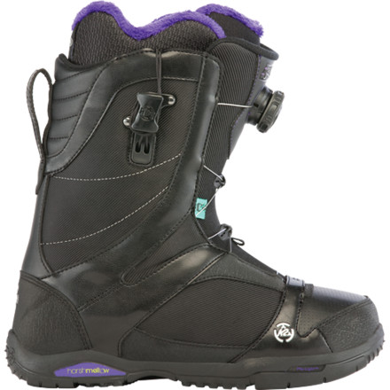 Snowboard The cushy, convenient, and versatile K2 Sapera Boa Snowboard Boot offers a great fit and all-mountain comfort for just about any level of rider. Boa Coiler shell lacing and Conda liner lacing allow a dialed fit in less time than everall without taking off your gloves and exposing your fingers to the frigid air. - $131.97