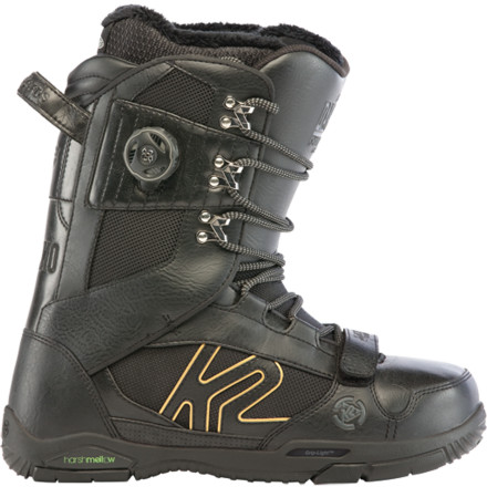 Snowboard The Darko Boot is the K2 team's choice for park and pipe domination. This ultralight boot focuses on support with a soft flex to let you shred without limits. - $137.97
