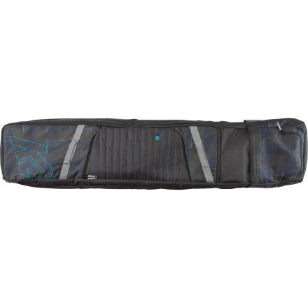 Snowboard From weekend shred trips to storm-chasing excursions across the globe, the K2 Roller Board Bag is the go-to for K2 team riders and dedicated riders everywhere who need all their gear protected and in one place. - $119.96