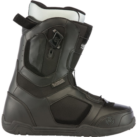 Snowboard The fast-lacing K2 Data Snowboard Boot rocks a medium-soft flex and lightweight design for all-day comfort whether you're hot-lapping the park or just cruising around the resort. - $101.97