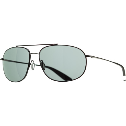 Entertainment Get crystal-clear vision and a sophisticated look with the Kaenon Ballmer Polarized Sunglasses. This modern take on the classic aviator is slightly more rounded to fit a wide range of face shapes and sizes, so anyone can enjoy the super-sharp vision enabled by its glare-eliminating SR-91 lenses. - $318.95