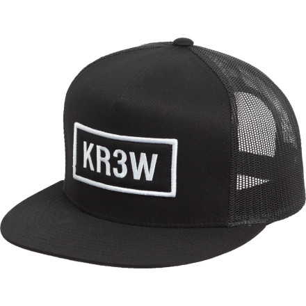 The world's lowliest miscreants and its most high-profile gardeners freaking love the KR3W Seed Patch Trucker Hat. - $14.96