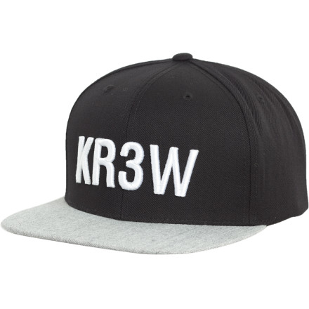 When does does over-communication have adverse effects Probably when we've over-liked, over-shared, and over-followed, and forgotten high-fives, eye contact, and real 'friends.' Put on the KR3W Seed Starter Snap Hat and start pushing, friend. - $14.98