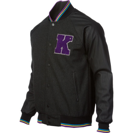 Skateboarder. Actor. Rap artist. Wearing the KR3W Breakdown Wool Jacket won't make you Terry Kennedy. Not by a long stretch. But people who don't know you and have never heard of him won't know the difference. And that's the truth. - $79.96