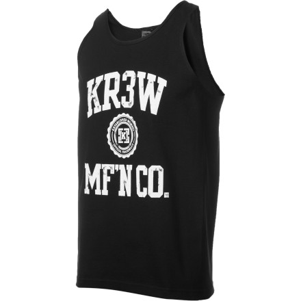Surf Get swoll with the KR3W MF'N Co Premium Tank Top. After you work your glamour muscles, head to the corner store for a chili dog and a slush. - $17.56