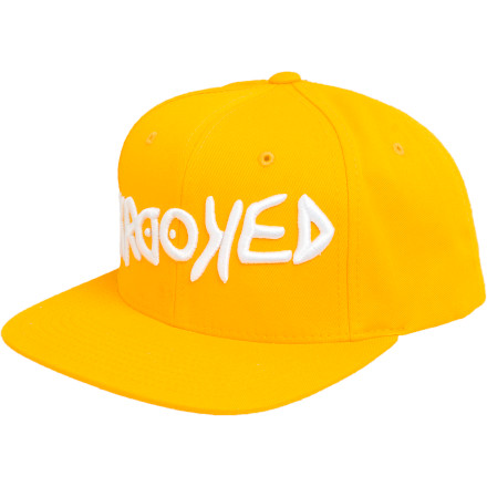 Skateboard When the zombie invasion finally happens and society turns on itself in a futile effort to delay the inevitable, pull on the Krooked Awry Snapback Hat, sit back, and watch the world burn. - $10.38