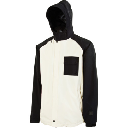 Snowboard With minimalist raglan styling and streetwear-inspired textured fabrics, it doesn't take a genius to recognize the radness of the L1 Savant Insulated Jacket. Allover lightweight insulation gives you plenty of warmth on its own, with plenty of room to move and add layers when necessary. - $89.98