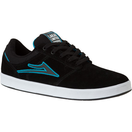 Skateboard The Lakai Linden Skate Shoe features the sturdy, light, and supportive XLK sole that has been favorited among Lakai's pro team for its cupsole-like support and vulcanized-like board feel. The Linden has a slim profile, a durable suede upper, and a classy look on and off a skateboard. - $27.18
