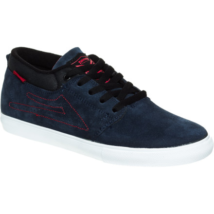 Skateboard You'll be the king of the road when you take to the streets in the Lakai Marc KOTR Men's Skate Shoe. Vulc construction allows the sole to flex more, giving you better board feel so you can lock down the technical skills needed to skate like the man himself, Marc Johnson. - $40.77