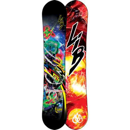 Snowboard Built to take on the world's gnarliest steeps, the T. Rice Pro Model C2-BTX Pointy Snowboard is one of Lib Tech's stiffest boards. This no-compromise stick uses C2 Power Banana Blended camber to tackle any and every terrain with T. Rice-like precision. - $329.97