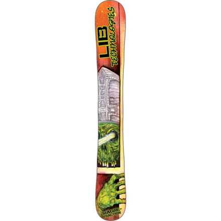 Skateboard Transform any skate deck into a binding-free winter shredding apparatus with the Lib Tech C2-BTX Snow Skate Ski. 48 inches of C2BTX love offer plenty of grip in firm snow, and plenty of float in deep snow. - $113.97