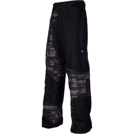Snowboard Assembled from 100% recycled polyester with 10K-rated waterproof performance and designed with the same artistic expression that graces their board's topsheets, the Lib Tech Recycler Pant goes hard in the snow but easy on the earth. - $89.98