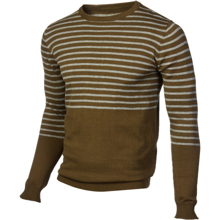 Class it up a bit without looking like a stiff with the Lifetime Beat On The Brat Men's Sweater. Fitted cut and classic styling give it just the right touch to impress her without looking like you're trying too hard. - $71.16