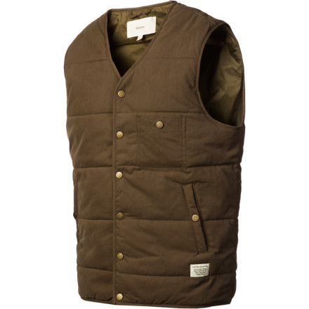 Wear the Lifetime Moss Mountain Vest over a button-down, a sweater, a long-sleeve T, or nothing at all. The first three will be stylish and attractive. The last one will be repugnant, dangerous, and will get you thrown out of any reputable eating establishment in the country. - $57.17