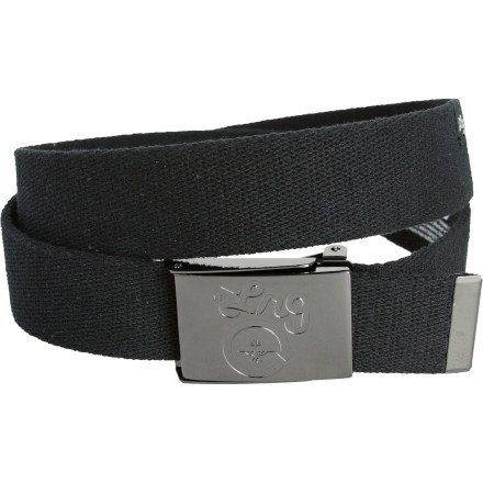 Nothing bursts your bubble of confidence faster than someone pantsing you while you spit game at the bar. The LRG Alloverit Belt provides a little security so you don't reveal your boxer choice to all the ladies at once. - $14.96