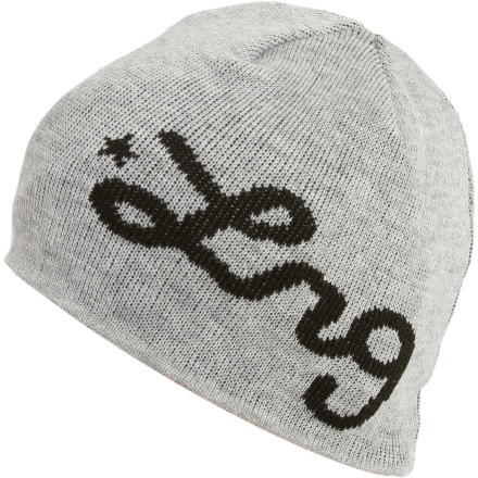 LRG hopes you'll reboot your look with the Restart Beanie, because sporting oversized, over-hyped logos season after season has left you lookin' sold-out and desperate for attention. - $19.95