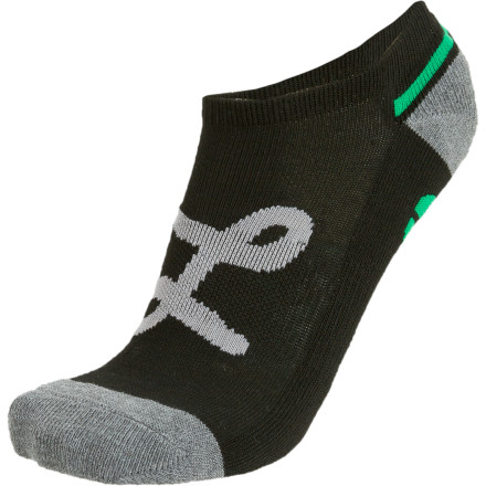 Skateboard Wake up, get out, and show up to wherever or whatever with your foot covered but your ankle exposed: the LRG No Show Sock. - $2.96