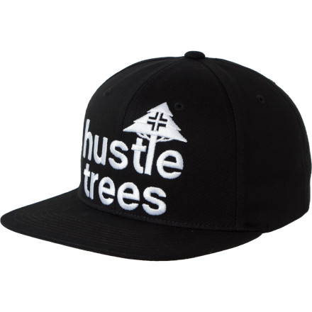 Slingin' trees is a risky biz, but with the high demand, you make the choice. Don the LRG Hustle Trees Hat and get out there. - $23.95