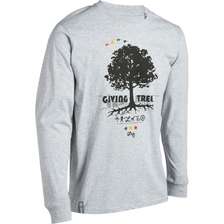 Your love of long necks, long sleeves, and smooth wheels has led you directly to the LRG Core Collection Nine T-Shirt. - $19.17