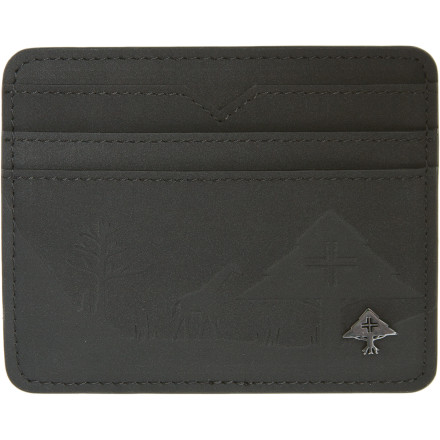 Entertainment If you're a plastic player more than a Benjamin baller, then LRG made the Motherland Card Holder Wallet just for you. Roll, tread, or cruise through life without the excess bulk of a full-sized walled. - $16.77
