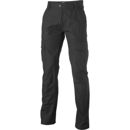 Skateboard Gone are the days of oversized cargo pants and puffy-tongue moon boots. The LRG Core Collection TS Cargo Pant sports a modern straight fit and a 16-inch leg opening that sits just right over a pair of skate shoes. - $31.98
