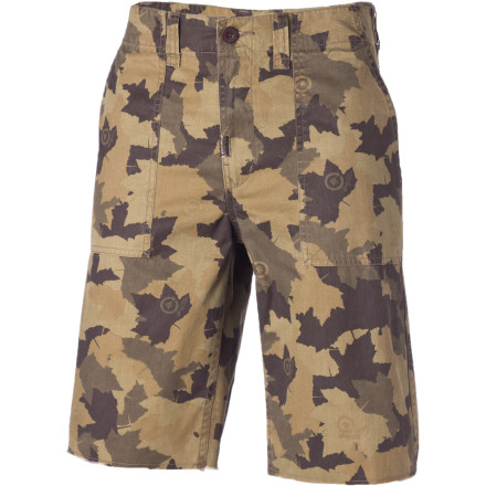 The LRG Children of Vision Camo TS Short sports comfy cotton-twill fabric and the same just-right True Straight fit you love on your LRG denim. You want them. We have foreseen it. - $35.37