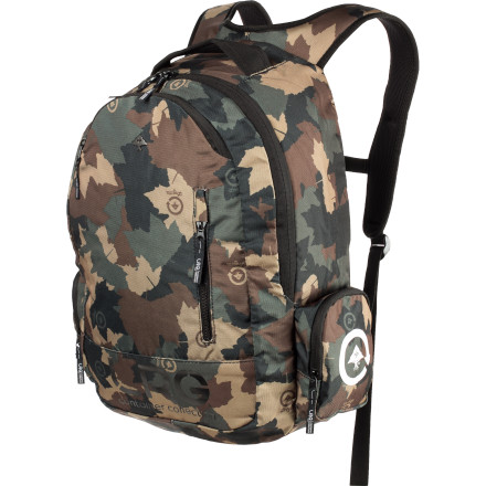 Camp and Hike Take your research beyond the classroom with the LRG C.C. Research Backpack. - $45.95