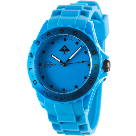 Entertainment At least the LRG Latitude Watch looks good on you while you sip cocktails on the beach at sunrise. That's more than we can say about you. - $61.95