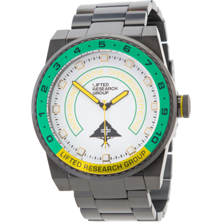 Entertainment Keep track of the time with the LRG Yacht Watch next time you're sailing off the cape, so you can be sure to make it to the party at the country club on time. - $149.47