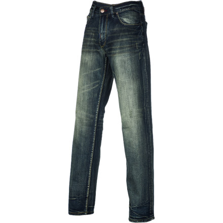 Entertainment Girlfriend keep giving you crap about the tears in the knees of your jeans Keep losing your wallet through the hole in your back pocket Upgrade to the LRG Nobility True Straight Men's Denim Pant and keep your wallet and your relationship secure. - $48.97